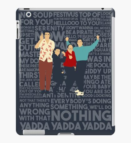 A Shirt About Nothing iPad Case/Skin