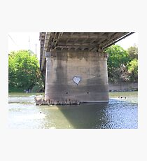 Heart of the River Photographic Print