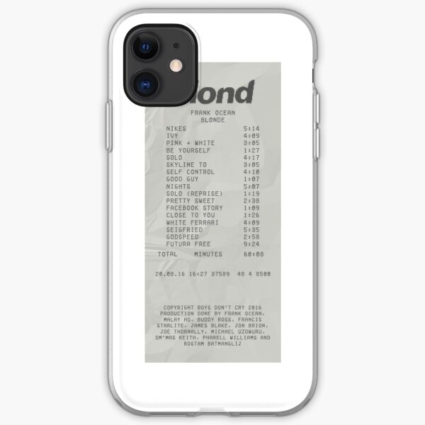 frank ocean iPhone Soft Case