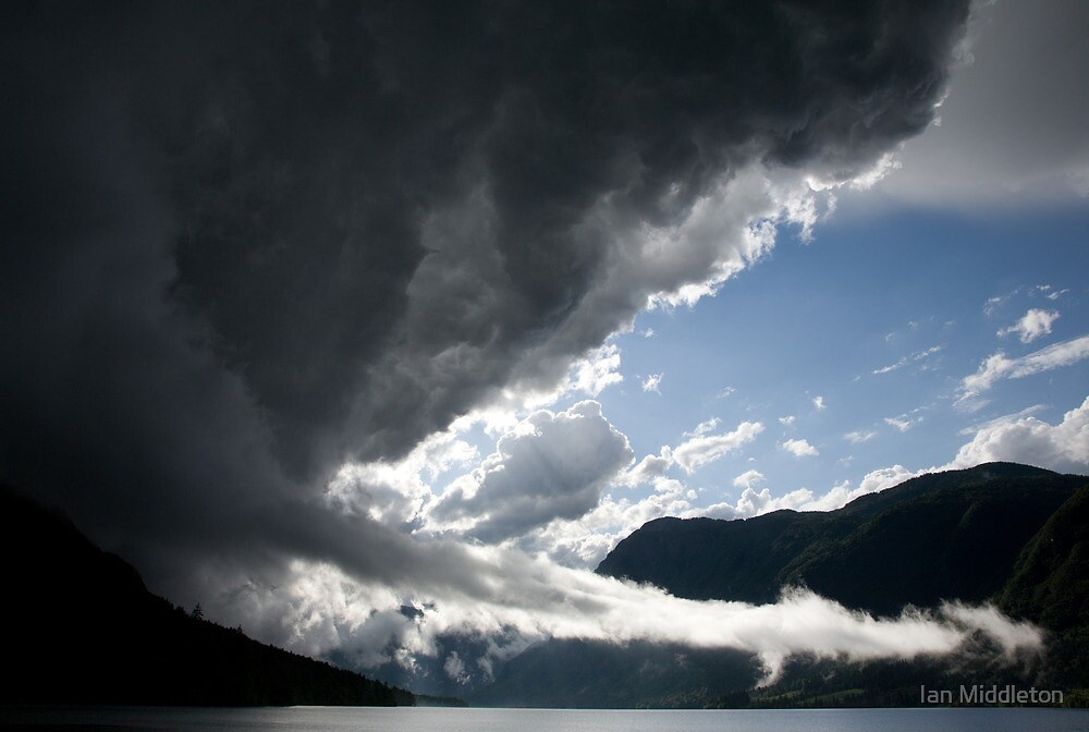 There's a storm brewing! by Ian Middleton