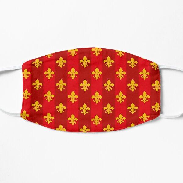 Fleur de Lys Rotgold größer Flache Maske