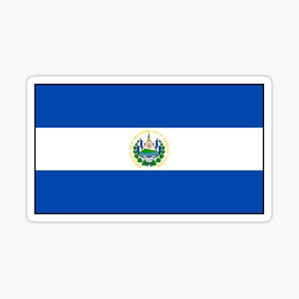 Regalos, pegatinas y otros productos de la bandera de El Salvador Pegatina