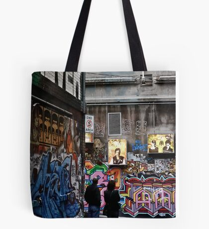 """""""It's art Jim, but not as we know it"""" Tote Bag"""