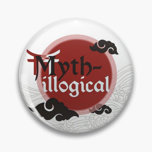 Myth-illogical Logo Pin