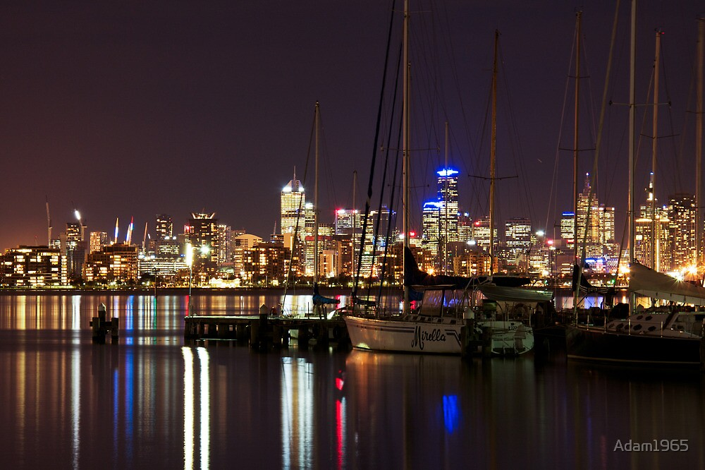 Lights over the bay. by Adam1965