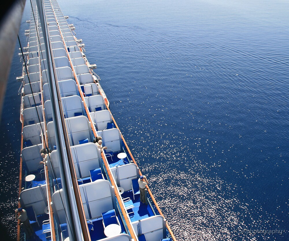 Best viewing from a big ship  by KSKphotography