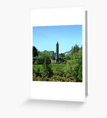 Irish Round Tower Greeting Card