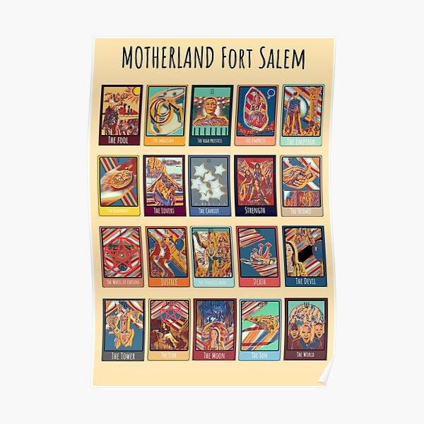 Patrie Fort Salem Tarot imprimer Poster