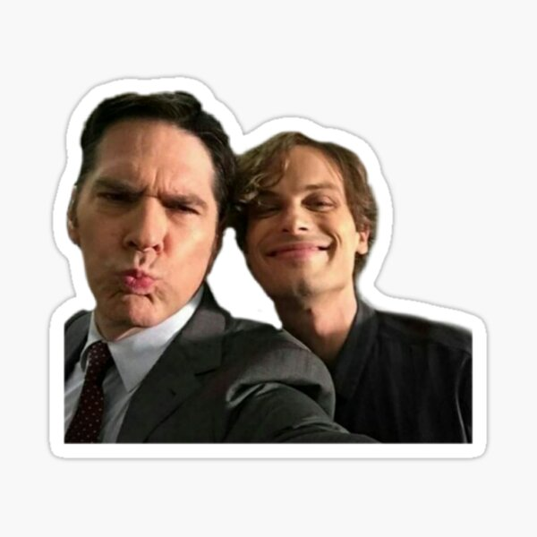 gibson and gubler selfie Sticker