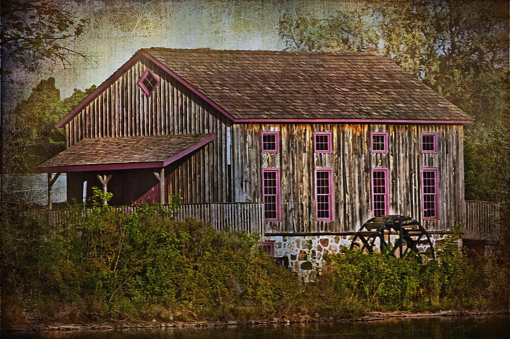 The Old Grist Mill by jules572