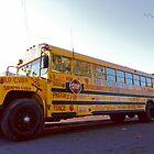 Yellow School Bus by Janice Chiu