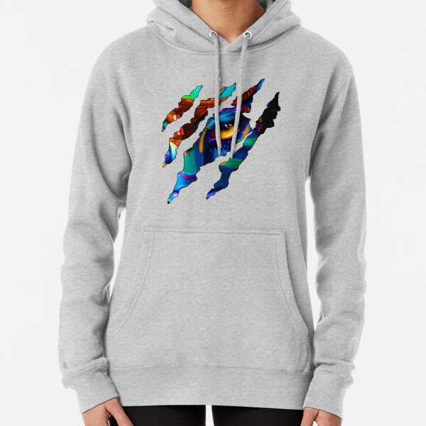 World of Pandora - Avatar - Neytiri and Claw Scratches Pullover Hoodie