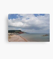 Costal View Canvas Print