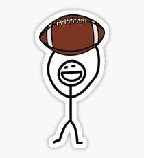 Football fan Sticker
