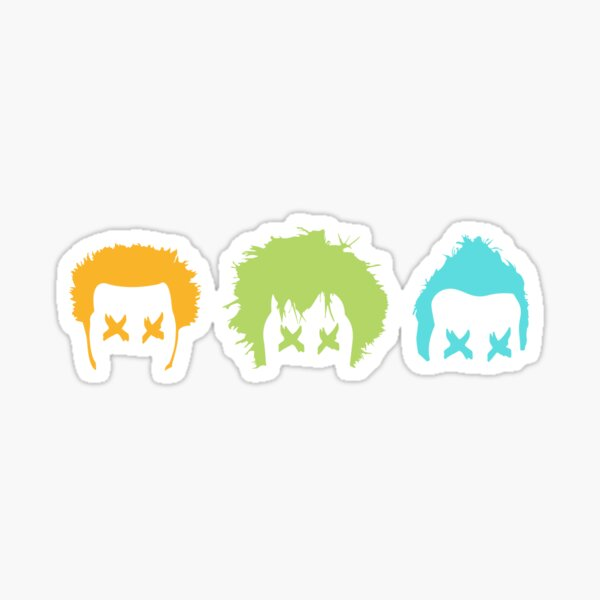 Green Day - Uno Dos Tres Sticker