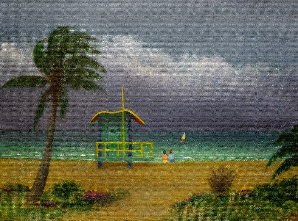 Storm Watchers by Gordon Beck