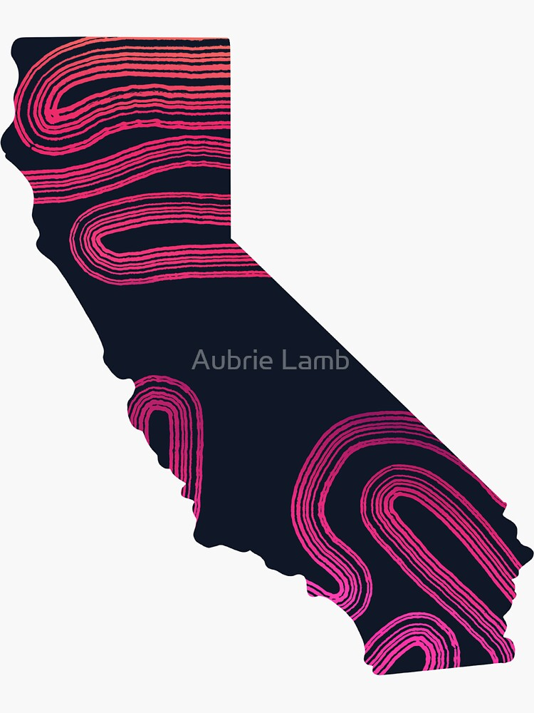 Beautiful California by Aubb