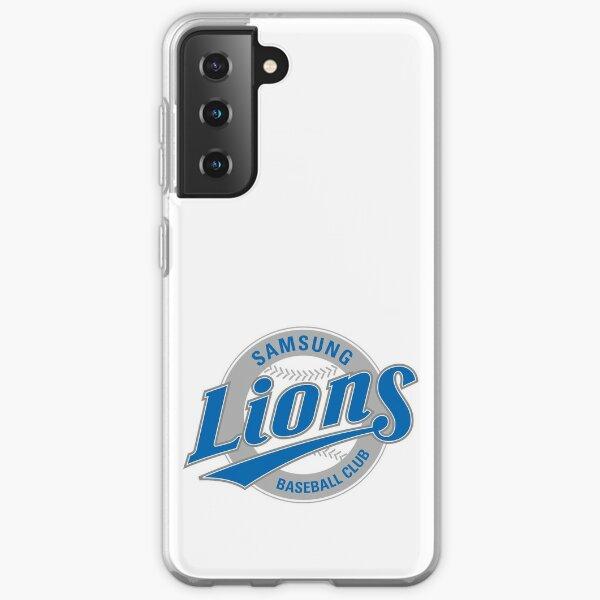 KBO SAMSUNG LIONS Logo Emblem - Korea Baseball Merch Hat Snapback Caps Mug Cup Samsung Galaxy Soft Case