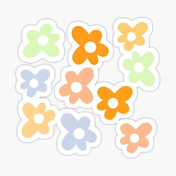 Conception de fleurs inspirée de Golf Le Fleur (par Tyler le Créateur). Sticker