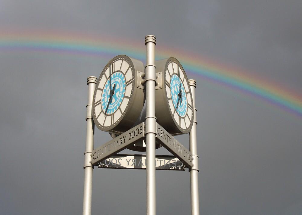 Luton Rainbow by Michael Baker