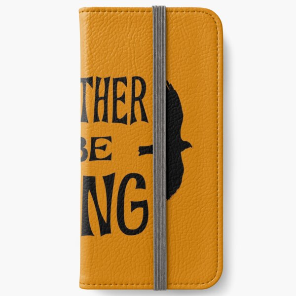 I'd Rather Be Birding iPhone Wallet