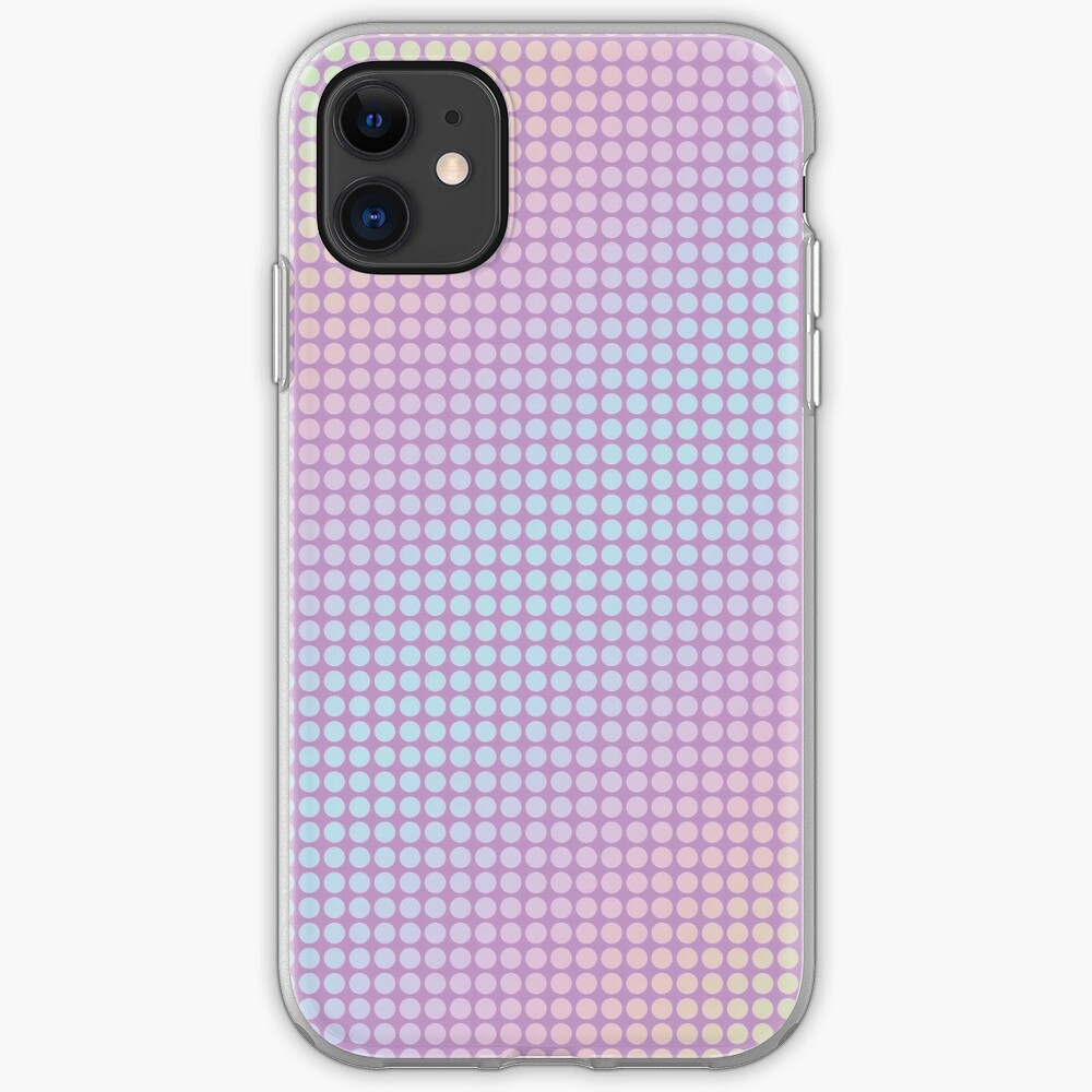 holo dots graphics iPhone Case & Cover