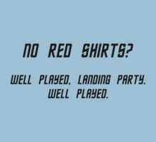 No Red Shirts? | Long Sleeve