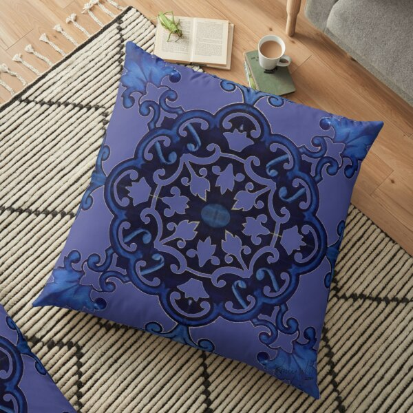 Tile - Azulejo 1.3 RazMeyrelles 2018 Floor Pillow