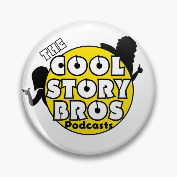 The Cool Story Bros Logo Pin