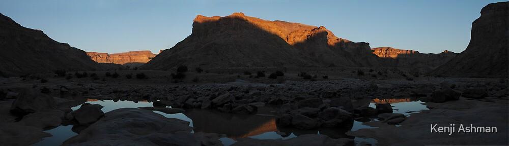 Reflection In Canyon by Kenji Ashman