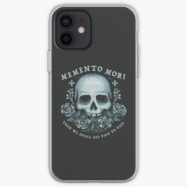 Memento Mori Phone Case iPhone Soft Case