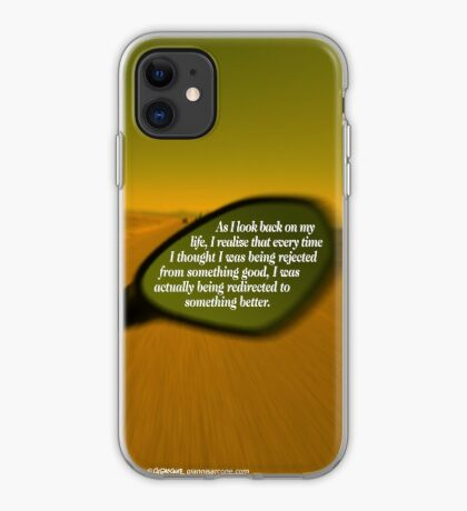 Steve Maraboli's Inspirational Quote iPhone Case