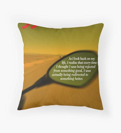 Steve Maraboli's Inspirational Quote Throw Pillow