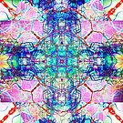 inverted Infinity Erupting from the Center Abstract mirrored Photography  by Followthedon