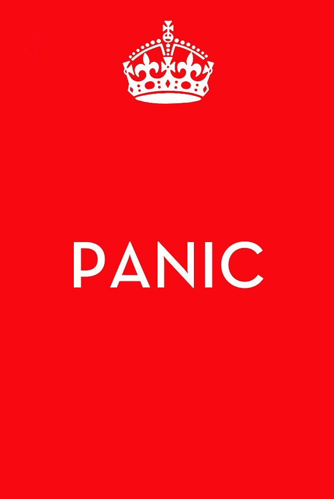 Do not keep calm by Krasdale