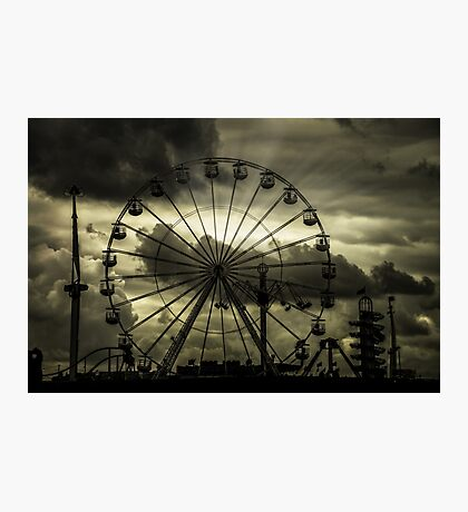 A Dark Day At The Fair Photographic Print
