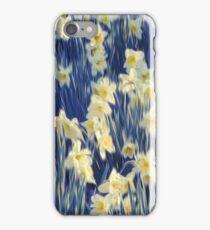 White Daffodils  iPhone Case/Skin