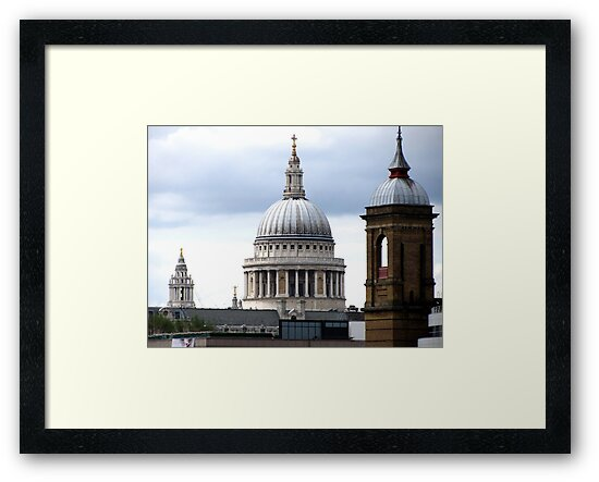DOME OF ST PAULS CATHEDRAL by gothgirl