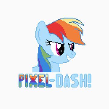 Rainbw Dash Pixel by Ryolo