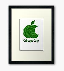 Legend of Korra Avatar Cabbage Corp Framed Print