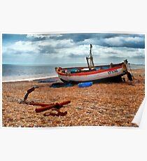 Aldeburgh Fishing Boat Poster