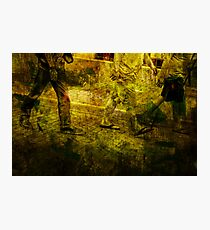Pedestrians On the Move No.5 Photographic Print