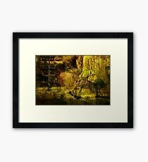 Pedestrians On the Move No.10 Framed Print