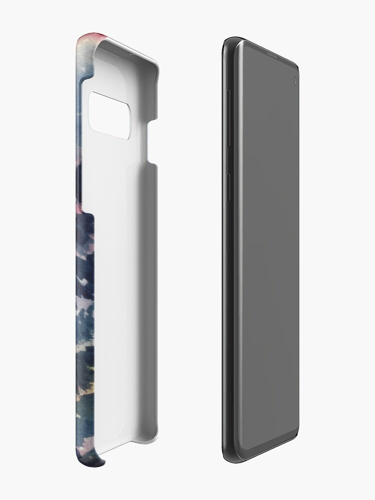 Alternate view of The Aurora Borealis and the Pines  Samsung Galaxy Phone Case