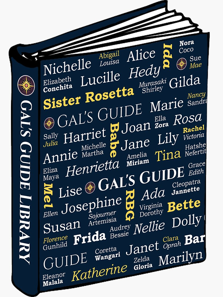Women's History Book by GalsGuide