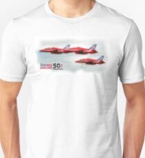 The Red Arrows - 50 Display Seasons Duvets, Cases etc Unisex T-Shirt