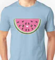 Kawaii Watermelon Slice Unisex T-Shirt