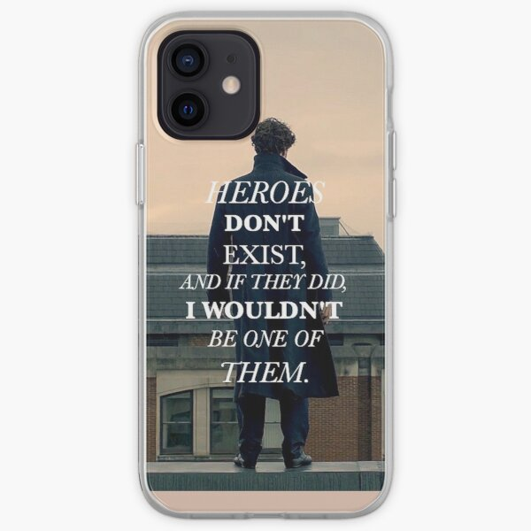 Heroes Don't Exist iPhone Soft Case