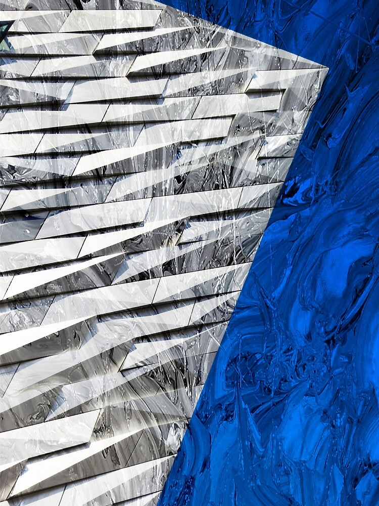 Titanic centre in abstract by Jeff  Wilson