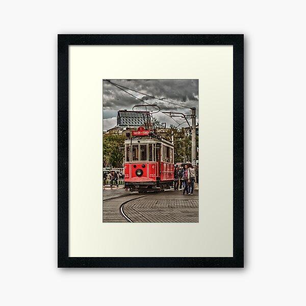 Nostalgic Tram Framed Art Print